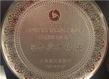 """千赢国际荣获""""2015年度上海蓝天经济城发展潜力奖"""""""